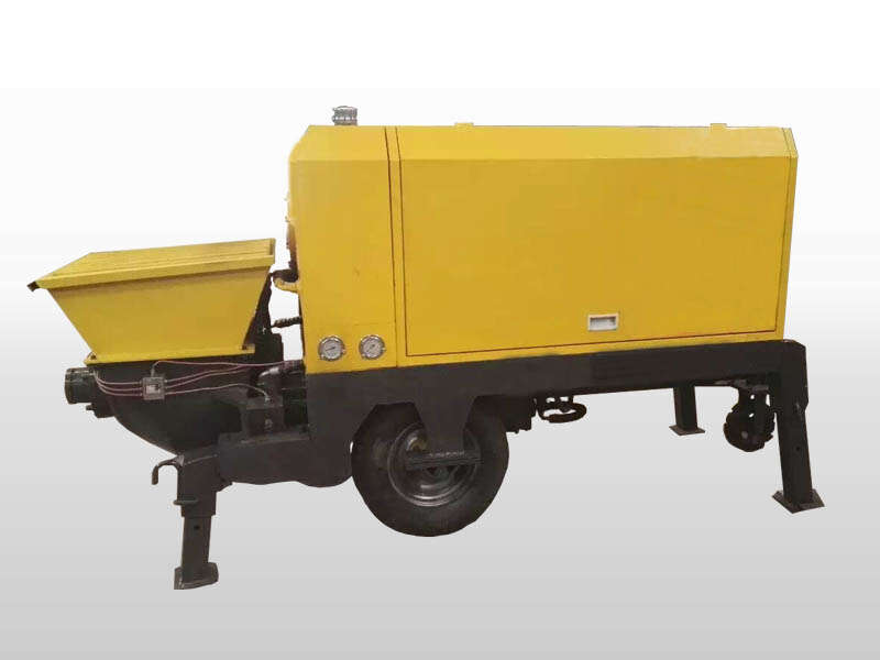wet shotcrete concrete pump