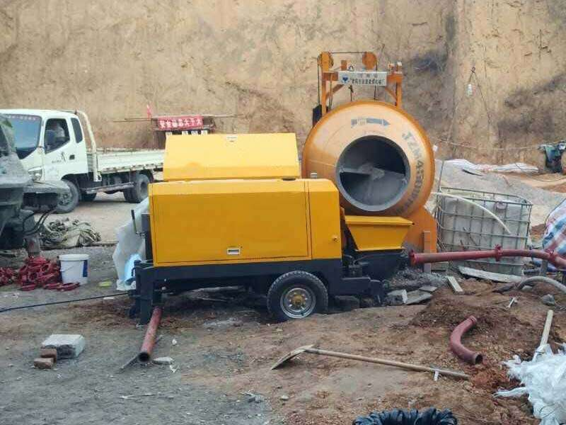 wet mix shotcrete machine applications