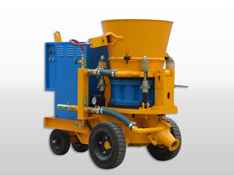 Dry Mix Shotcrete Concrete Machine