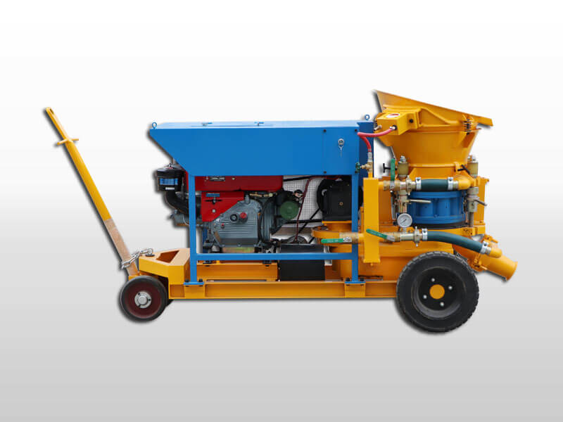 shotcrete spraying machine
