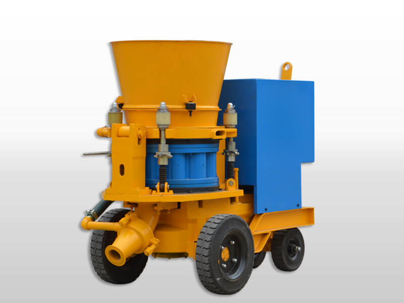 Dry Shotcreting Machine