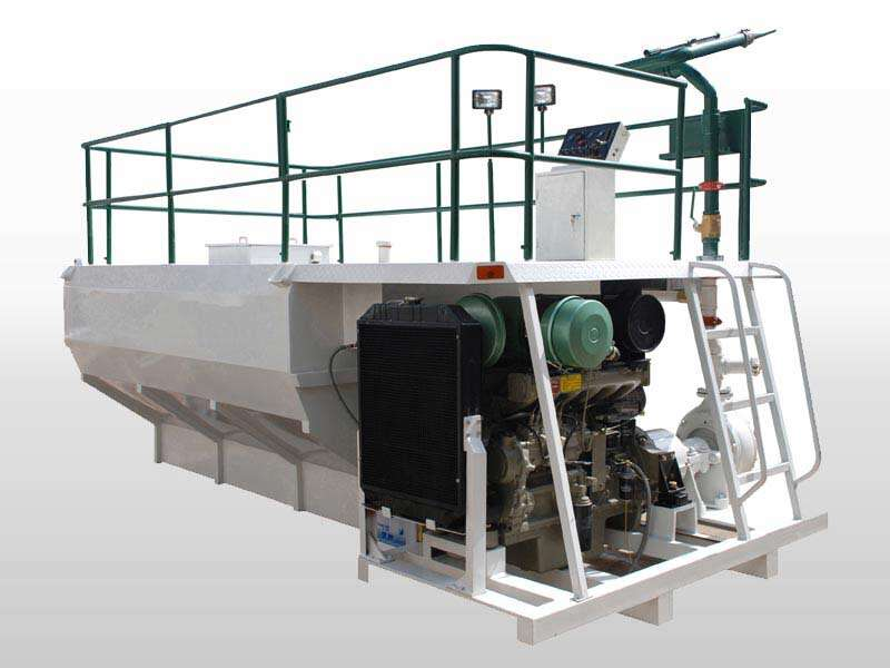 soil spraying machine