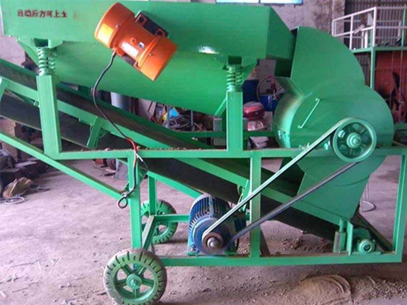 soil screener machine