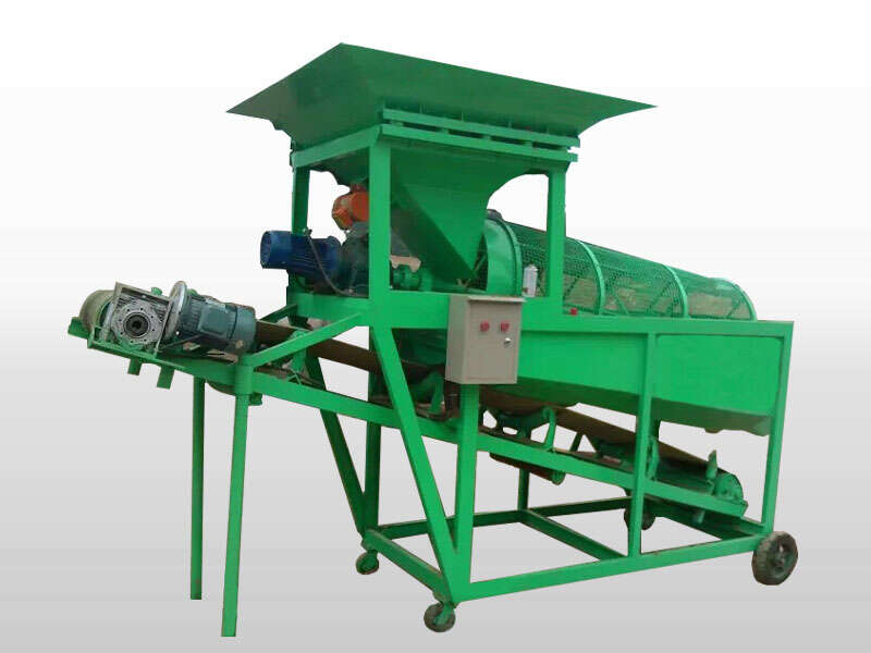 screeing soil machine