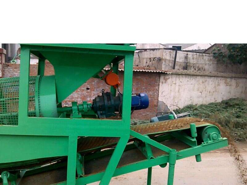 soil vibrating sieve machine